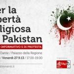 RACCOLTA FIRME PER LA LIBERTA' RELIGIOSA IN PAKISTAN